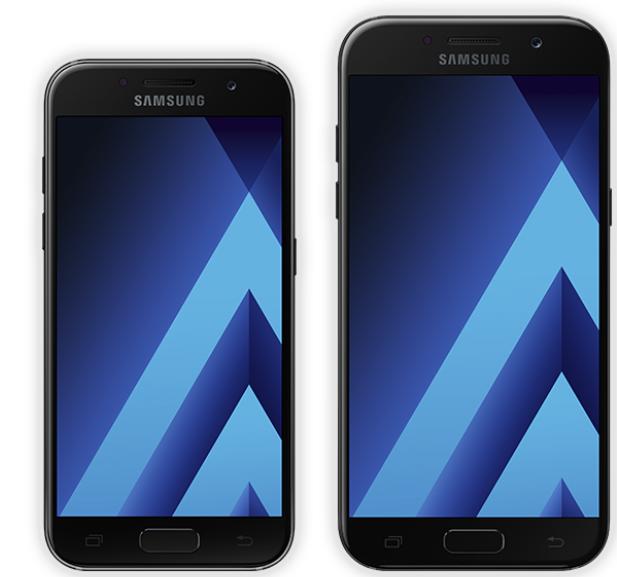 Galaxy A3 und A5