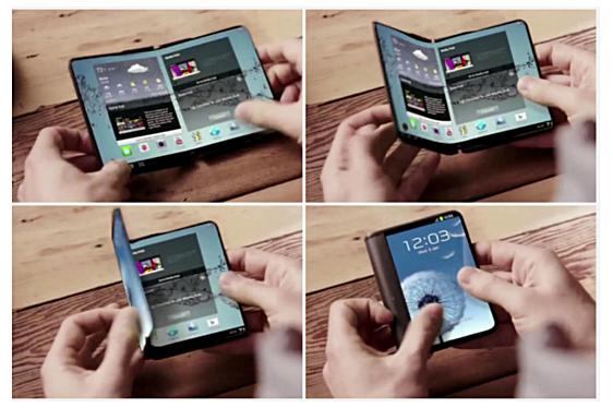 Samsung-faltbares-Smartphone-YouTube