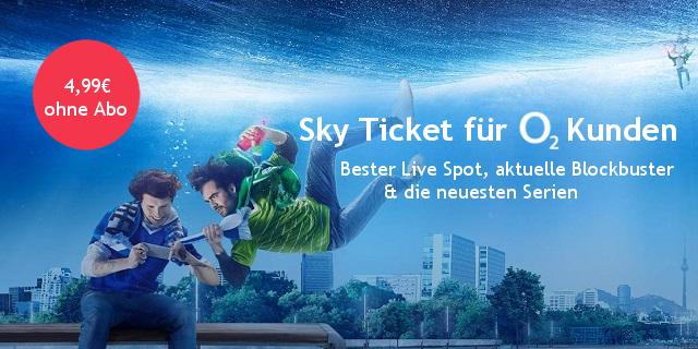 Sky Tickets für o2-Kunden 2