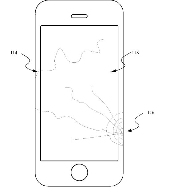 Coverglass Fracture Detection Patent Bild USPTO