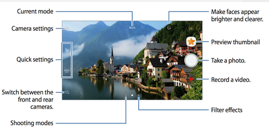 Galaxy S6 neues Kamera-Interface Bild Sammobile