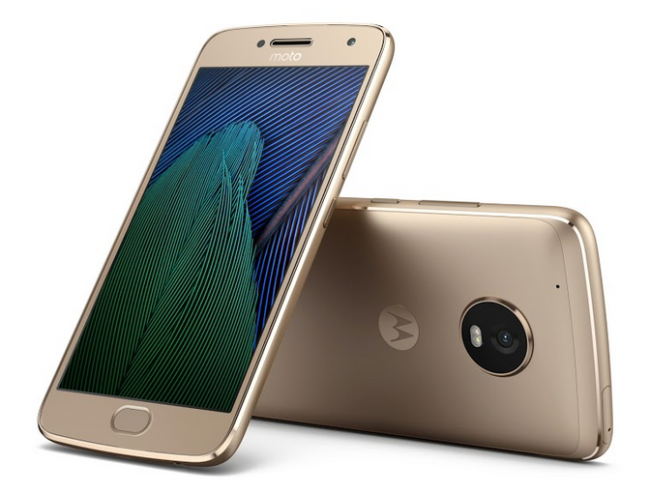 Moto G5 Plus in Gold Hersteller