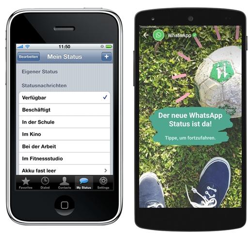 Whatsapp Status Update Bringt Stories Funktion