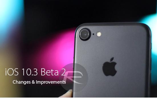 iOS 10.3 Beta 2 Bild Redmondpie com