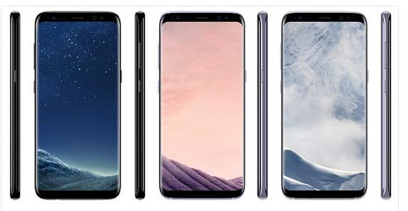 Galaxy S8 Bild Evan Blass über Twitter