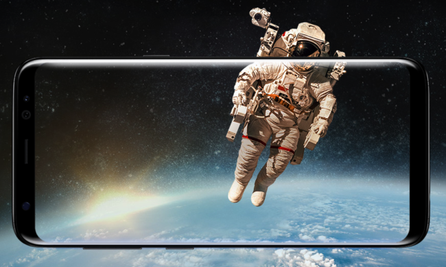 Galaxy S8 Infinity Display Bild Hersteller