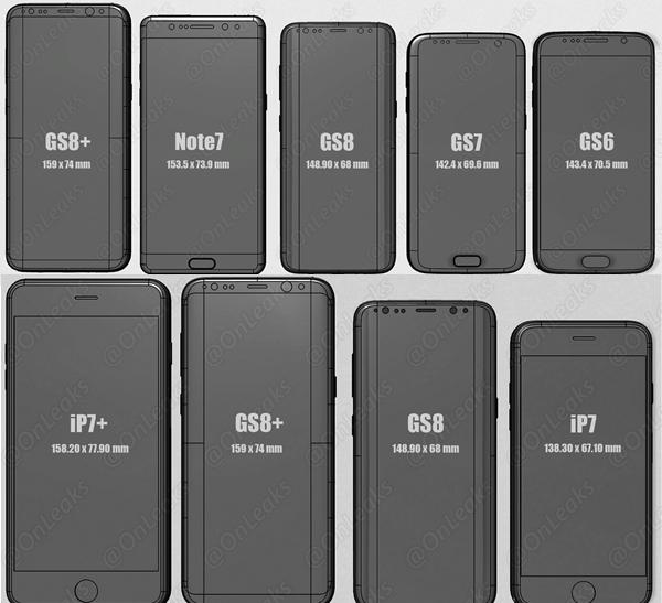 Samsung Galaxy S8 und S8+: Neue Bilder aus freier Wildbahn zu sehen