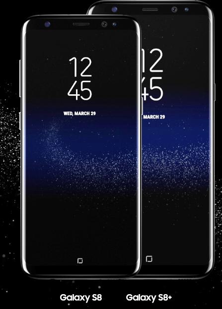Galaxy S8 und S8+ Hersteller