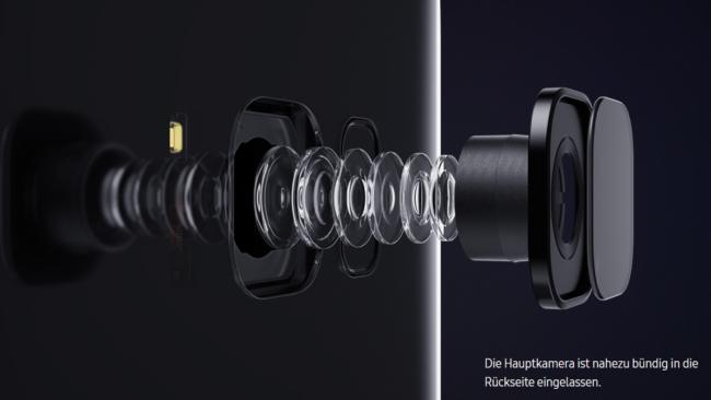 S8 Hauptkamera bündig eingelassen Bild Hersteller