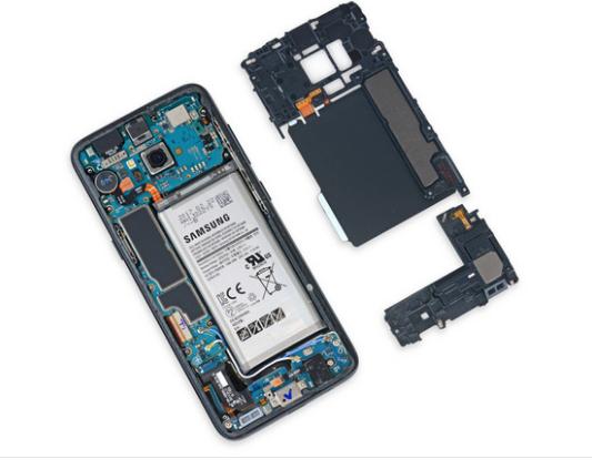 Galaxy S8 Innenleben Bild iFixit