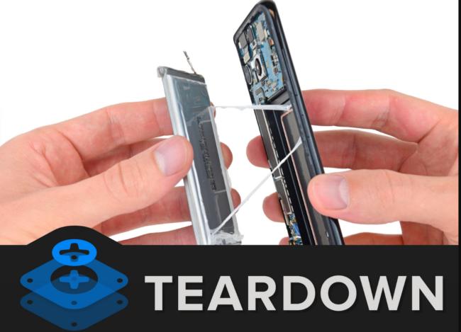 Galaxy S8 Teardwon Quelle iFixit