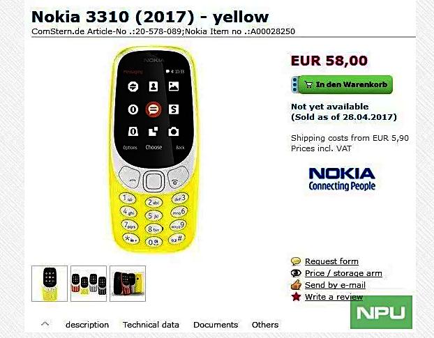 Nokia 3310 Quelle Nokiapoweruser