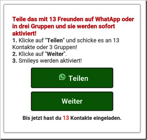 WhatsApp Kettenbrief Bild mimikama at