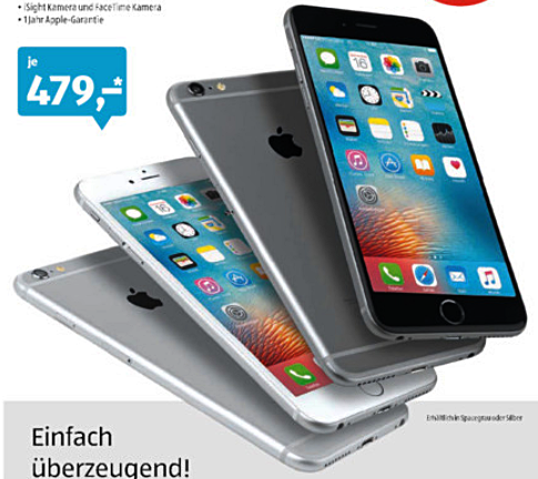 iPhone 6 Plus Aldi Süd