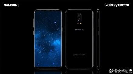 Galaxy Note 8 Quelle Weibo