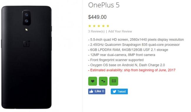 OnePlus 5 Details Bild Giga de Oppomart