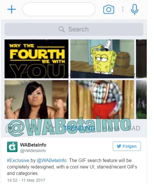 WhatsApp GIF-Feature Bild WABetaInfo