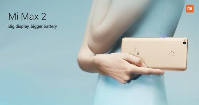 Xiaomi Mi Max 2 Bild Hersteller