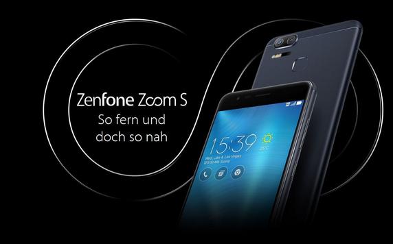 Asus bringt ZenFone Zoom S mit Doppelkamera
