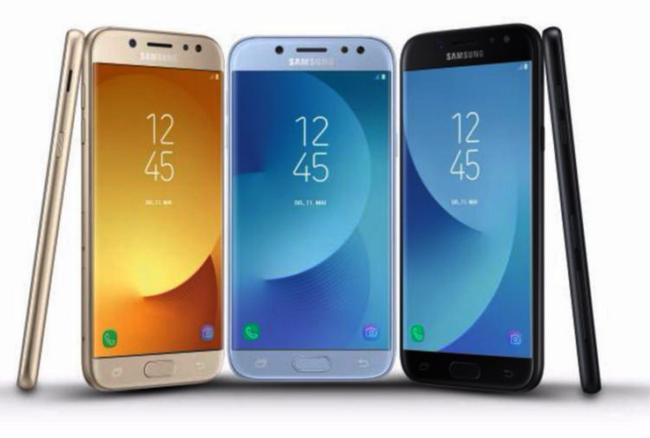 Galaxy J3,J5 und J7 2017 Quelle Samsung