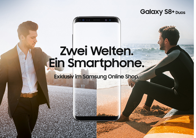 Galaxy S8+ Duos von Samsung