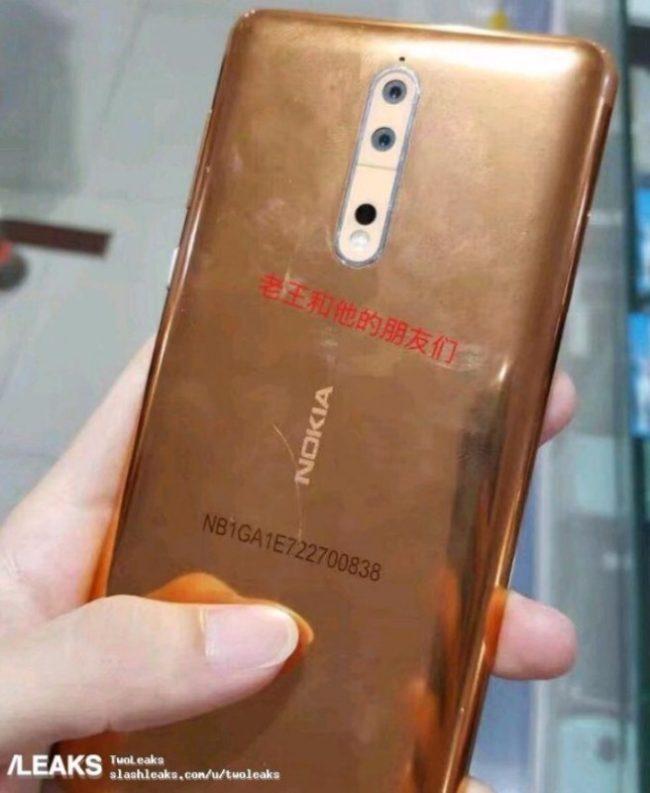Nokia 8 - High-End-Smartphone erscheint Mitte August
