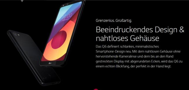 LG Q6 Hersteller