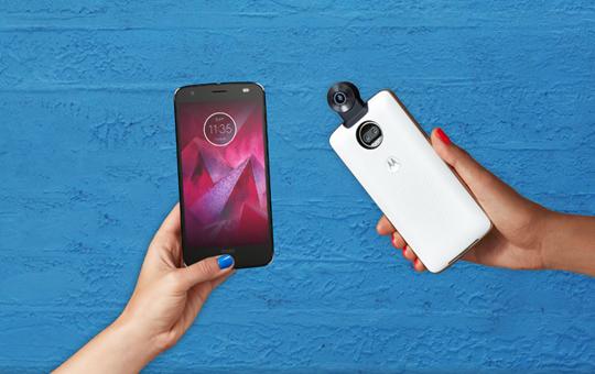 Moto Z2 und Camera Moto Mod
