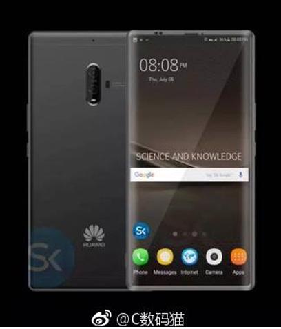 Mutmaßliches Huawei mate 10 Bild Weibo