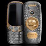Nokia 3310 als Putin-Trump-Edition Bild Caviar