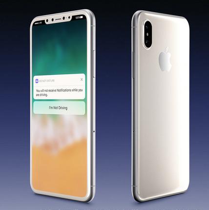 iPhone 8 in Weiß Martin Hajek über Twitter