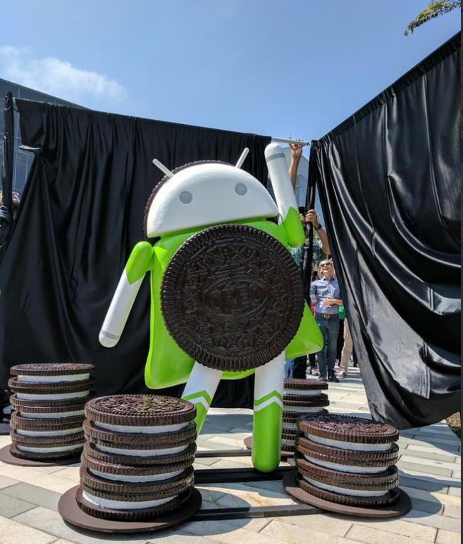 Android Oreo Bild Davey Burke über Twitter