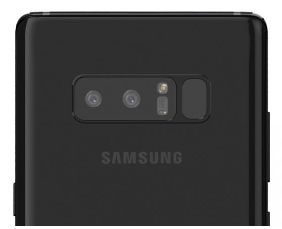 Galaxy Note 8 Kamera Bild BGR
