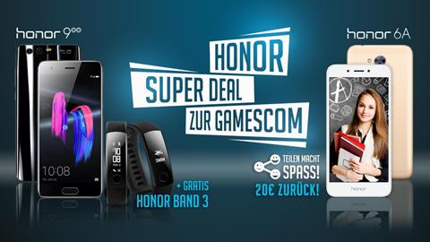 Honor 9 Aktion zur gamescom