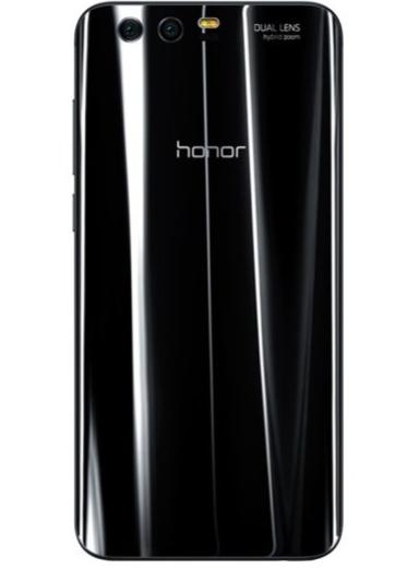 Honor 9 in Midnight Black