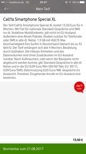 Vodafone Smartphone Special Xl