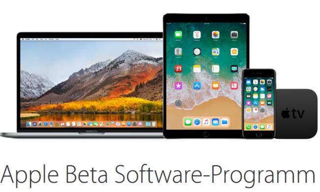 iOS 11 Public Beta 4 über Apples Beta Software-Programm