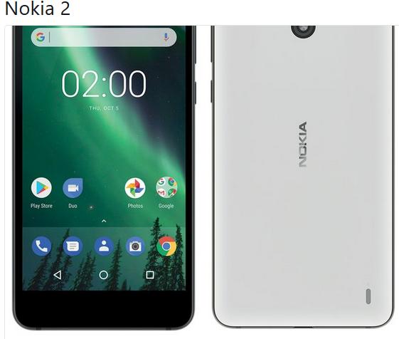 Angebliches Nokia 2 Bild Evan Blass über Twitter