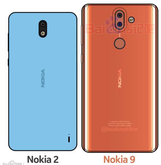 Angebliches Nokia 9 baidu com
