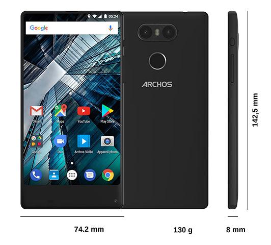 Archos Sense 55S Quelle Hersteller