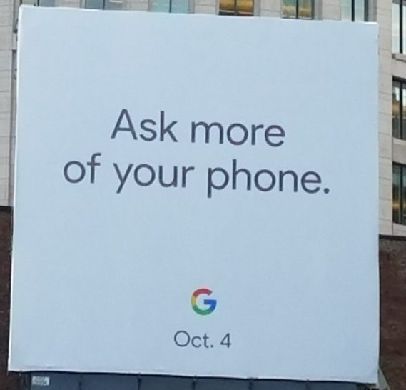 Google Event am 4. Oktober