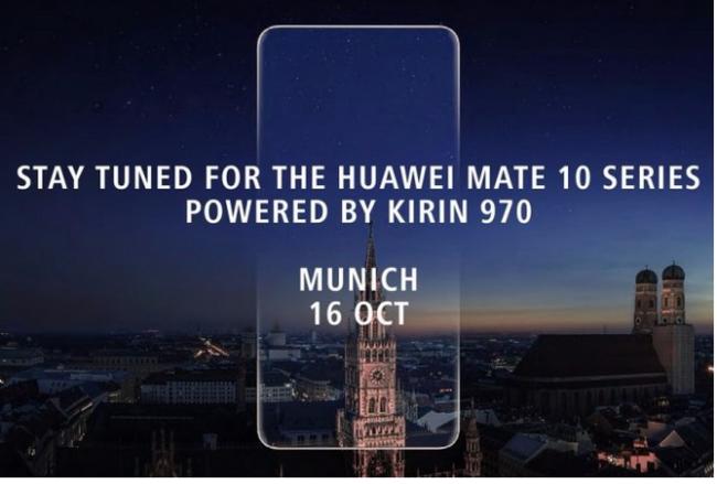 Huawei Mate 10 zeigt sich auf neuem Foto