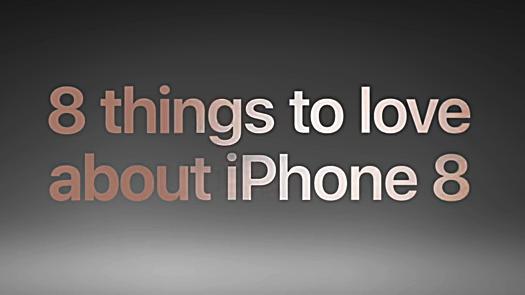 iPhone 8 Werbespot