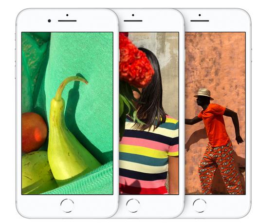 iPhone 8 Farbbrillianz