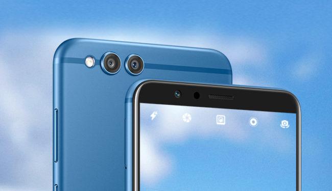 Dual-Kamera im Honor 7X Hersteller