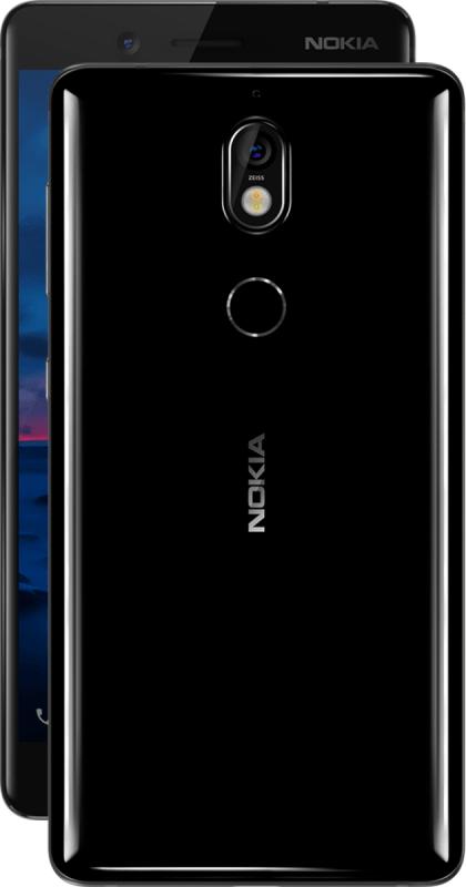 Nokia 7 in Schwarz