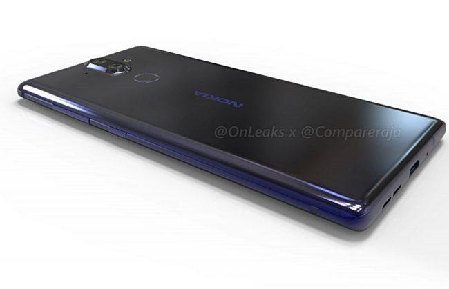 Nokia 9 Leak OnLeaks und CompareRaja