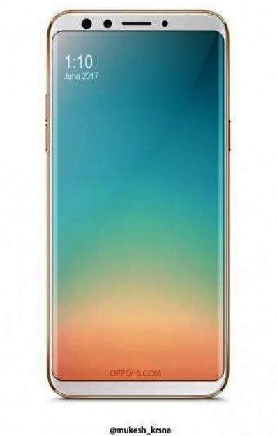 OnePlus 5T oder Oppo F5 Bild gizmochina