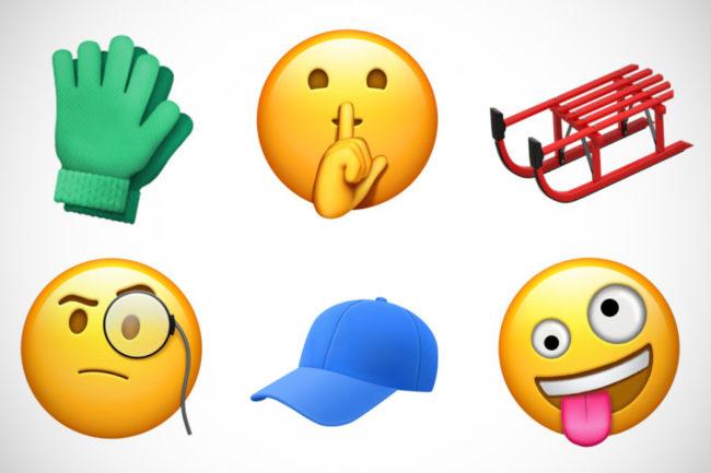Neue Emojis Bild Apple