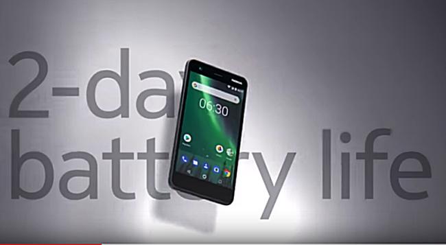 Nokia 2 Akkulaufzeit